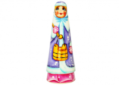Winter with buckets