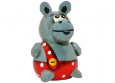 A hippo in trousers