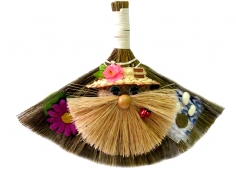 A broom in a form of a spirit small